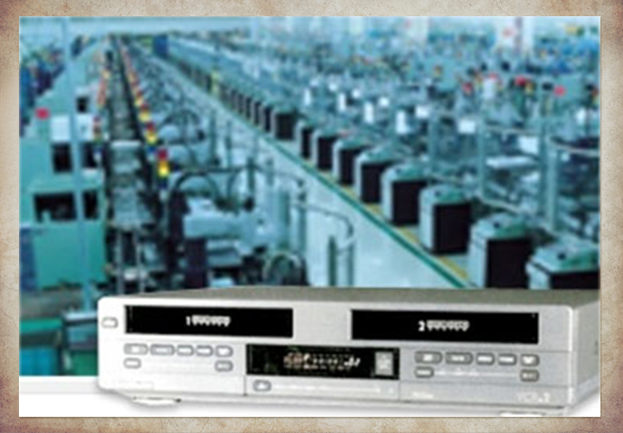 History of samsung 10 the worlds first dual deck vcr completed samsung achieved sustained growth in the vcr market as the 1990s began in fact samsung took 158 percent of market share for vcrs in korea publicscrutiny