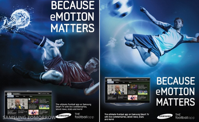 For the fans: Samsung partners with motain to bring free