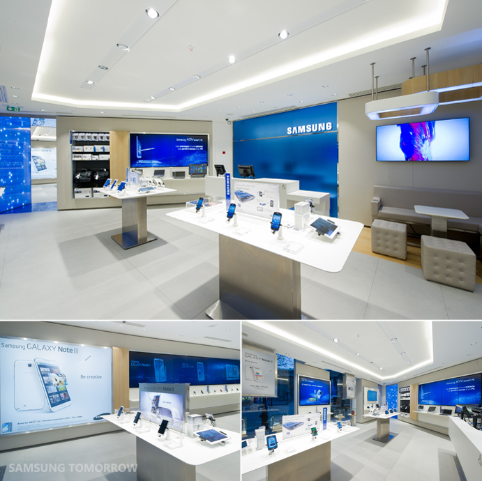 first samsung mobile store opens in paris samsung global newsroom