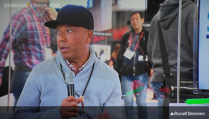Samsung Tomorrow TV--Russell Simmons