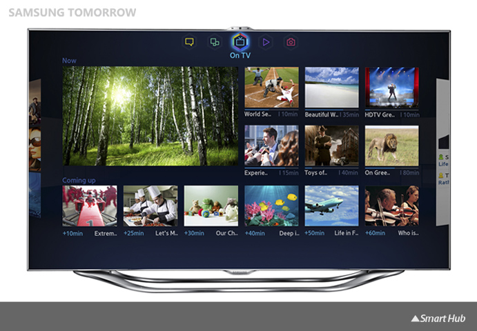 Samsung TV, Smart Hub