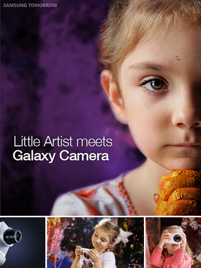A Little Artist Meets GALAXY Camera