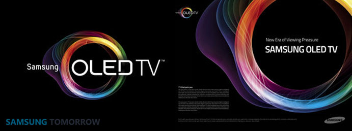 samsung OLED TV logo
