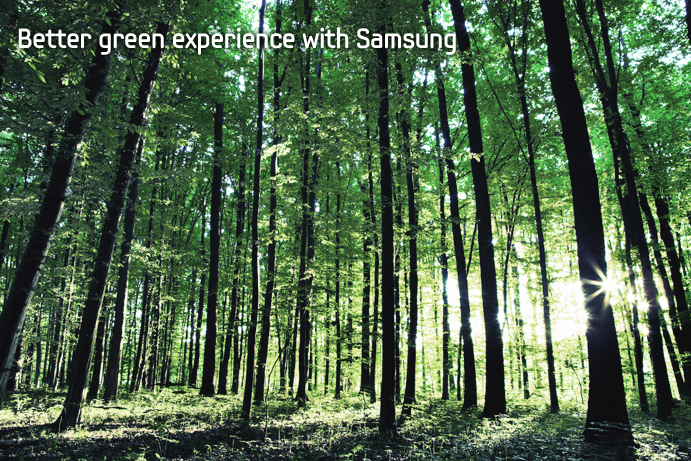 Samsung Electronics announces availability of Eco Trees