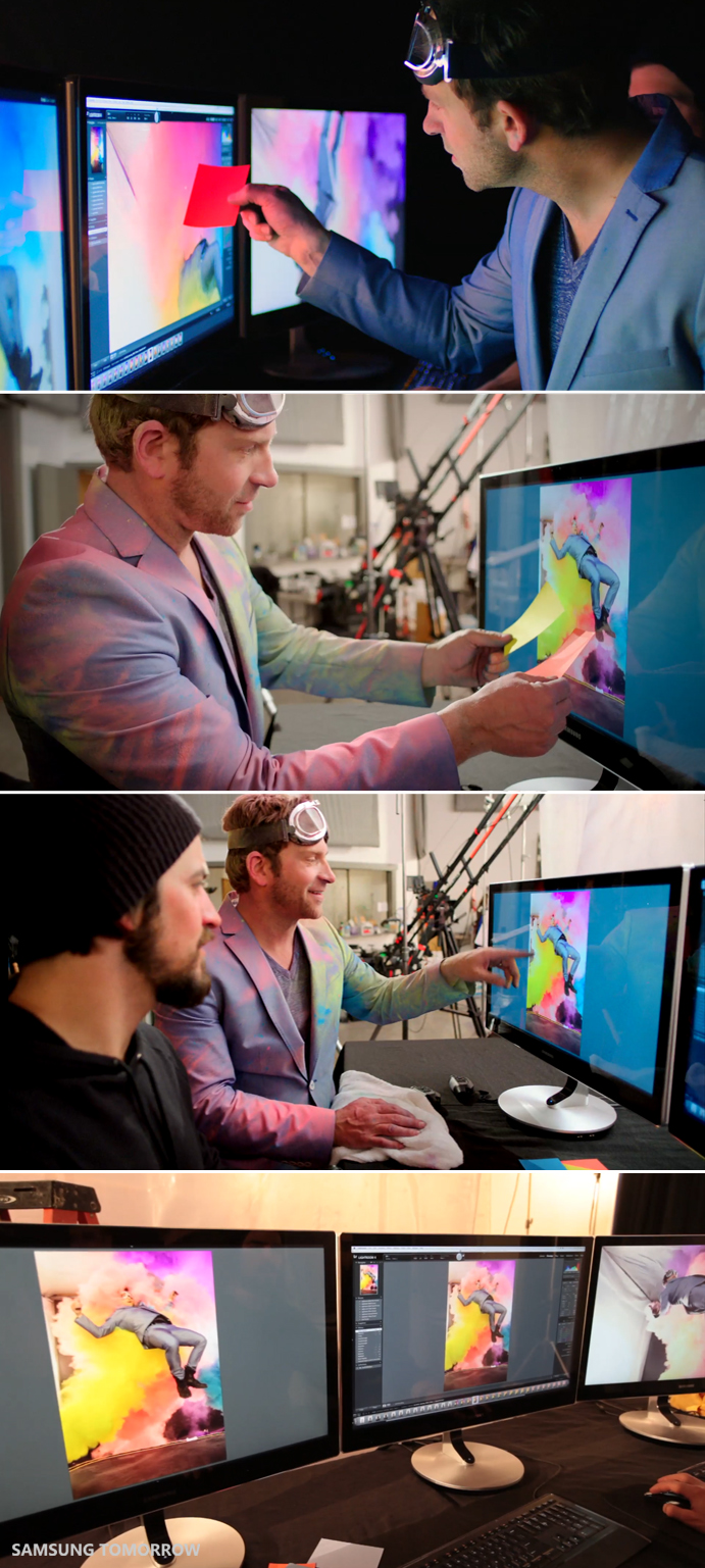Chase Jarvis's Dream in Full Color with Samsung's Premium Series 9 Monitor