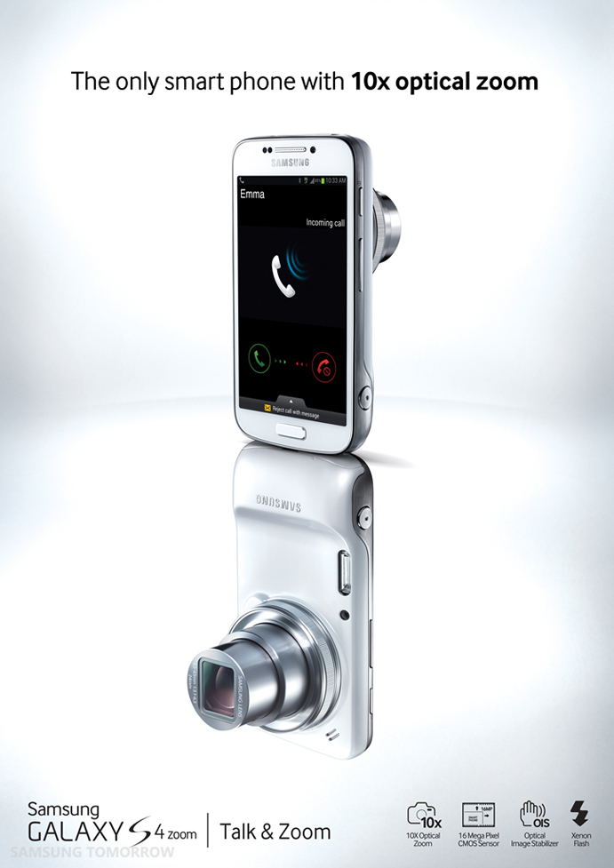 Samsung Introduces GALAXY S4 zoom – the first smartphone ...