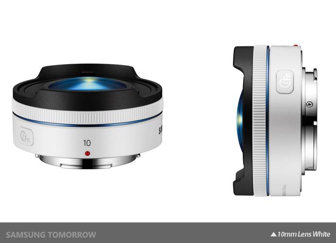 10mm Lens White