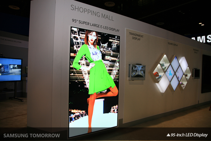Samsung Commercial Displays >> Samsung Unveils New Dynamic Signage Solutions And Display Technology