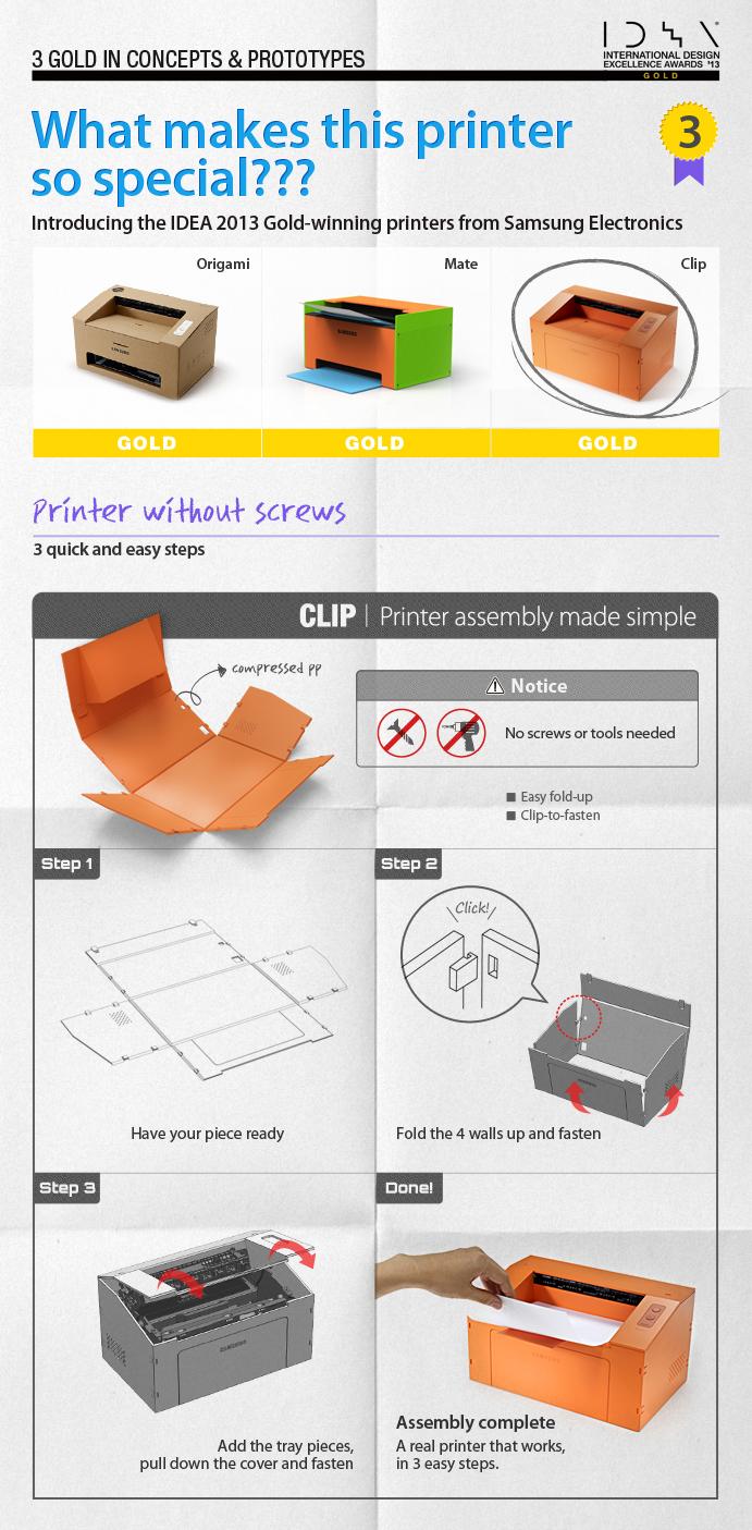 Make Printing a Snap: Samsung Clip Printer!