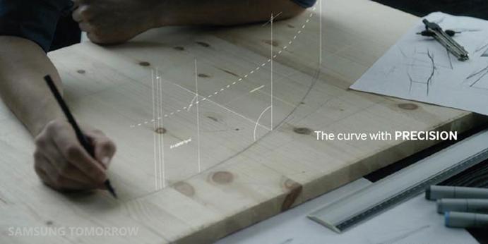 Curved OLED TV