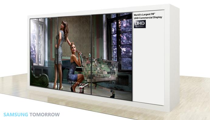 Samsung Commercial Displays >> Samsung Electronics To Debut Uhd Displays At Ifa 2013 Samsung