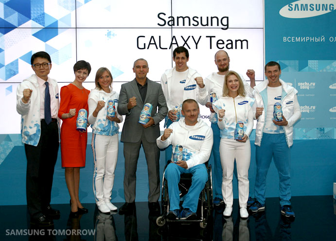 Samsung GALAXY Team Russia