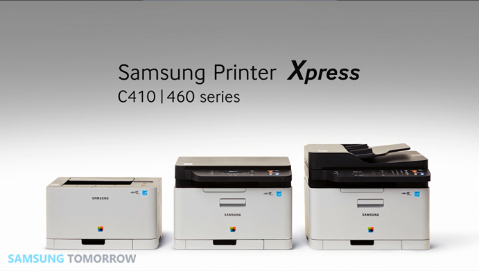 the first NFC (Near Field Communication)–enabled color laser printer and multi-function printers (MFPs) Xpress C410 series and C460 series.