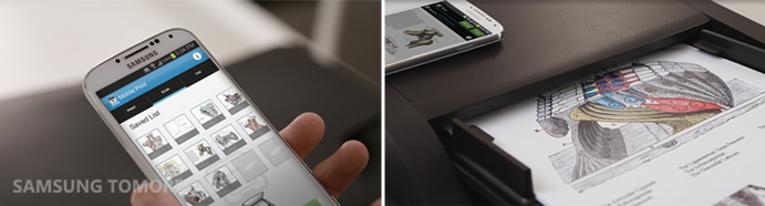 Save scans directly onto your devices and print immediately