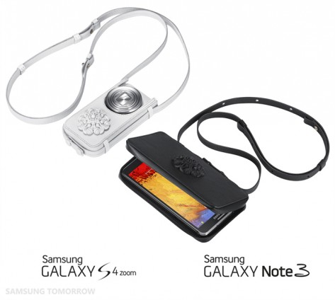 Samsung Electronics and celebrated avant-garde womenswear collection, hexa by kuho, revealed a stunning new set of accessories for the Samsung GALAXY Note 3 and GALAXY S4 zoom at Paris Fashion Week.
