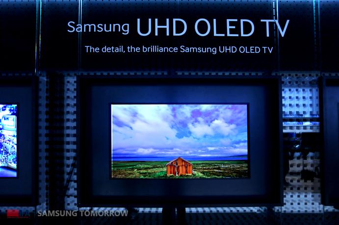 Samsung unveils UHD OLED TV