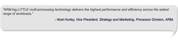 Noel Hurley, Vice President, Strategy and Marketing, Processor Division, ARM.