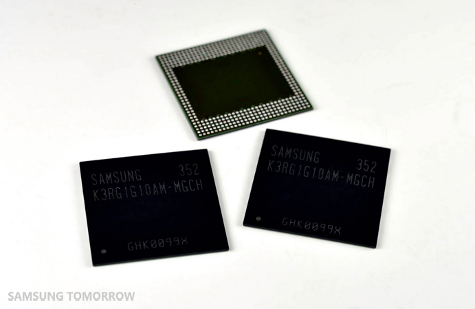 Industry's First 8Gb LPDDR4 Mobile DRAM-01