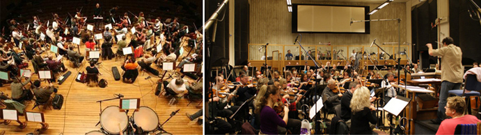 Over the Horizon_recording with the Prague Philharmonic Orchestra