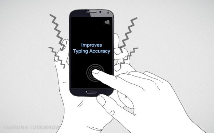 haptic and sound improve accuracy