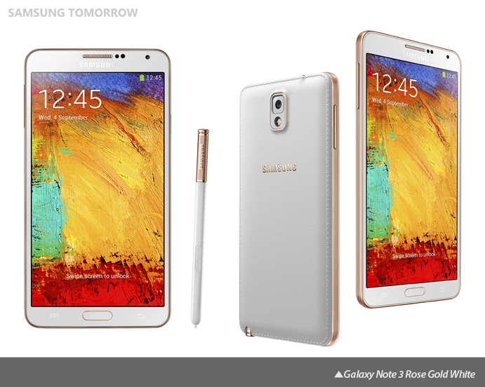 bb58f028d Samsung Expands Galaxy Note 3 Line with New Color Accents – Samsung ...