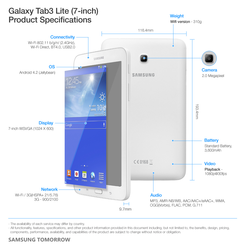 Samsung expands galaxy tab3 line with galaxy tab3 lite 7 samsung global newsroom - Samsung galaxy tab 4 lite ...
