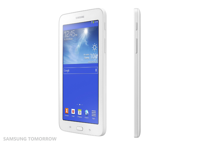Galaxy Tab3 Lite side view