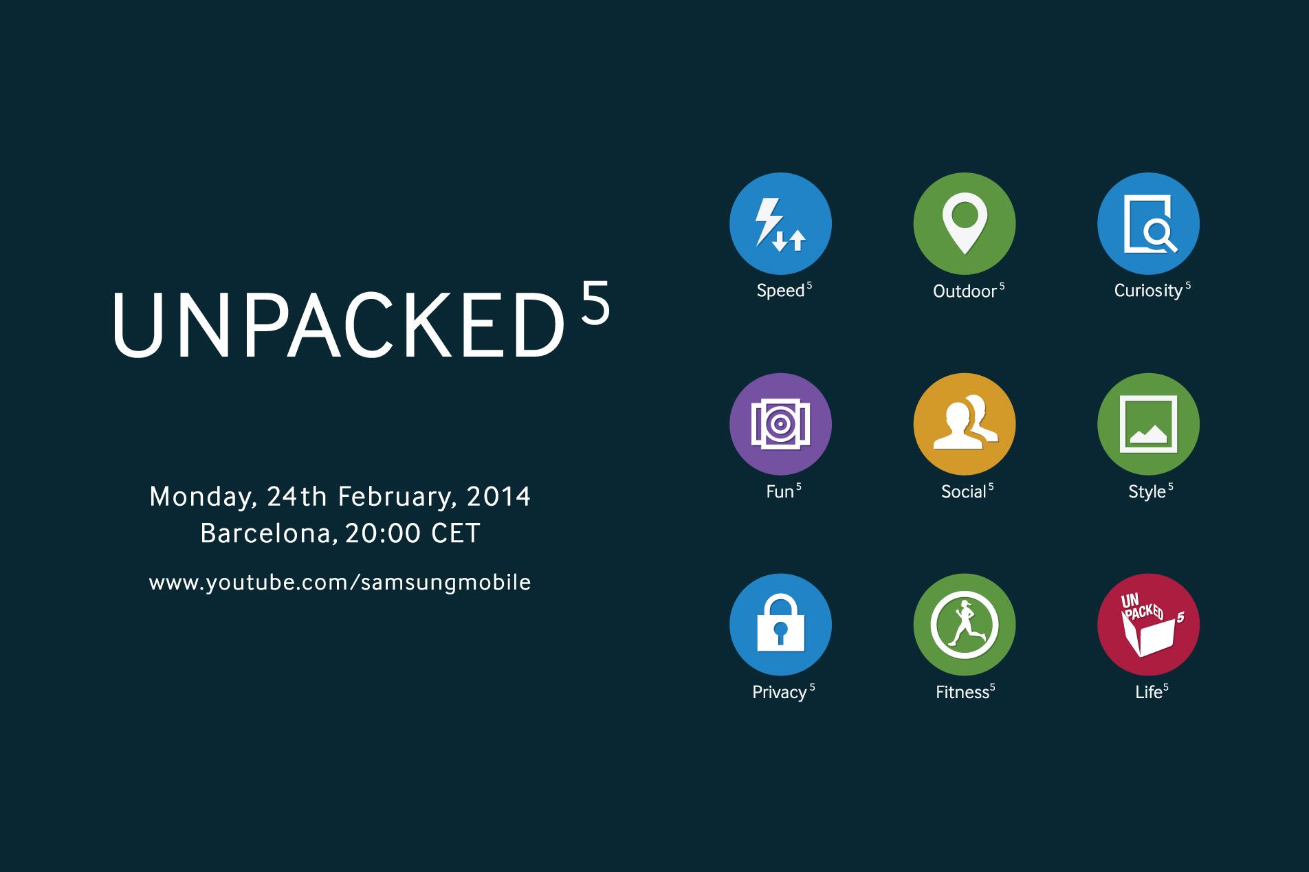 Update on Samsung Unpacked 2014