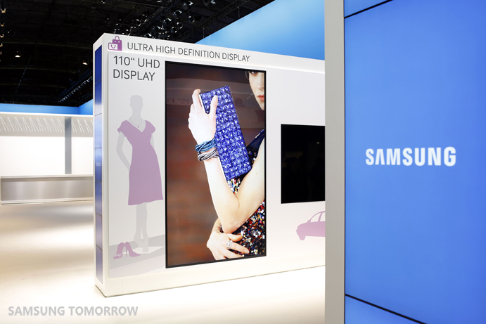 Exhibition Display Solutions : Samsung electronics unveils cutting edge display solutions at ise