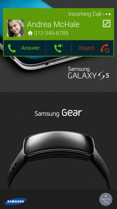 10. Receive a call while using other Apps with 'Call Notification Pop-ups' (1)
