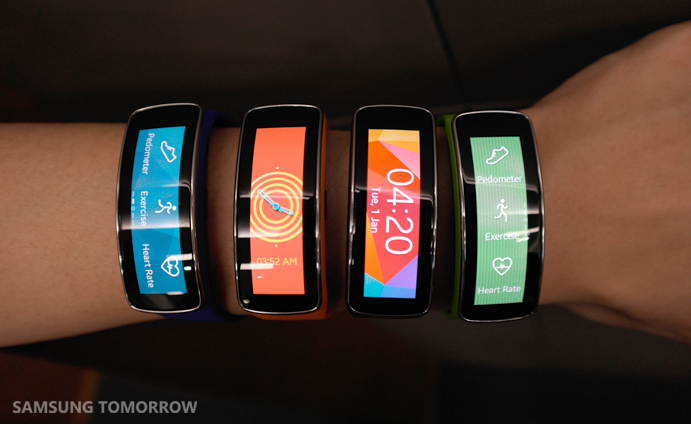 Horizontal or Vertical Display of Gear Fit
