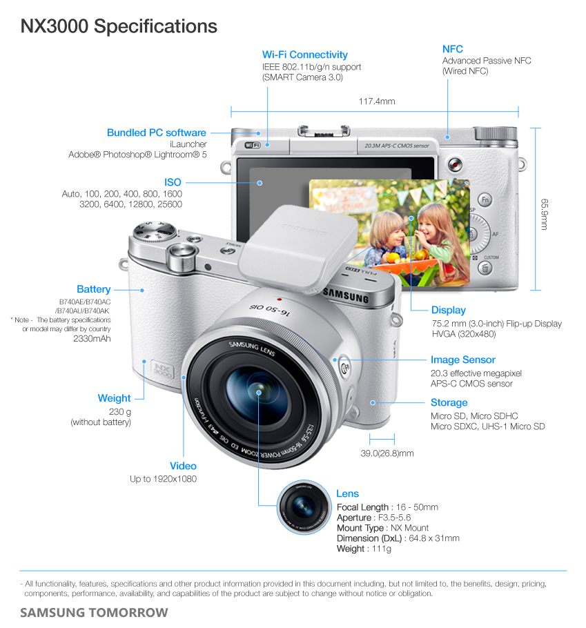 NX3000_Specifications