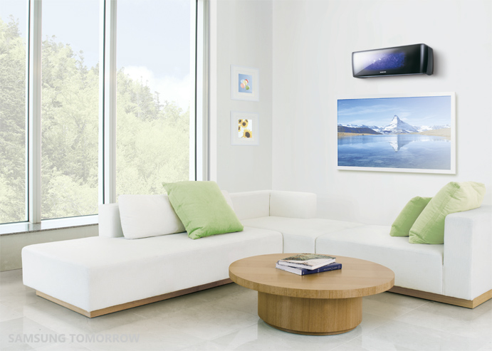 Easy To Control With Samsung Smart Air Conditioner App