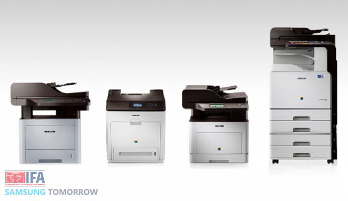 the new Smart Office platform alongside its latest multifunction printers