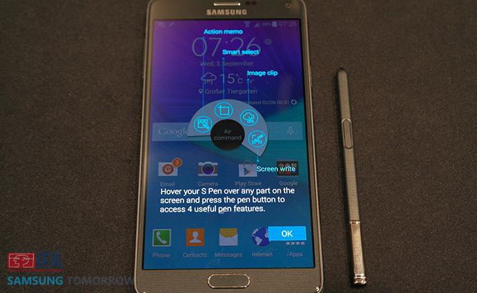 Galaxy Note 4 Back
