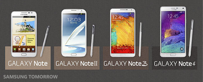 Galaxy Note is a series