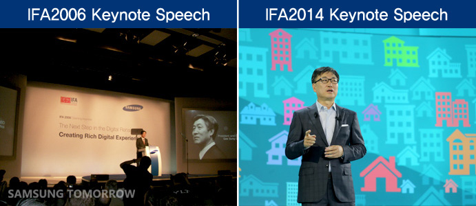 IFA 2006 vs 2014 Keynote