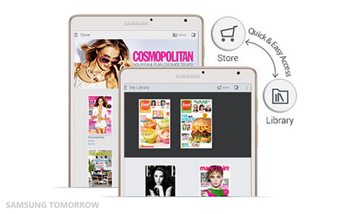 All Your Magazines in One App! Papergarden – Samsung ...
