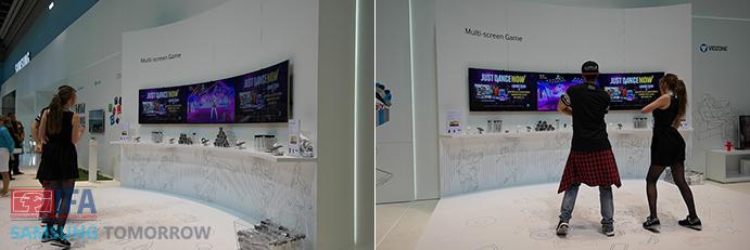 Samsung Just Dance Demo at IFA 2014