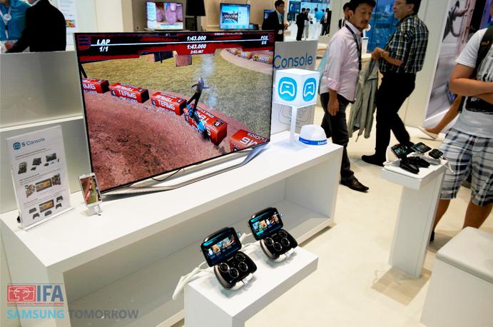 Samsung Multiscreen game demo