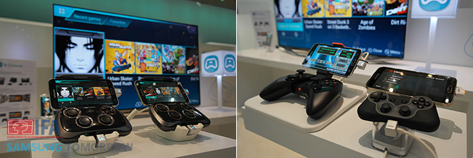 Samsung Smartphone GamePad and others