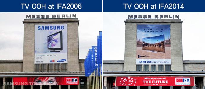 TV OOH at IFA