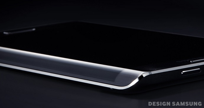 Delicate Curve of the Galaxy Note Edge