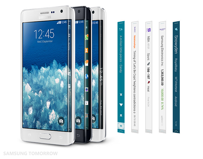 Galaxy Note Edge-Edge Screen