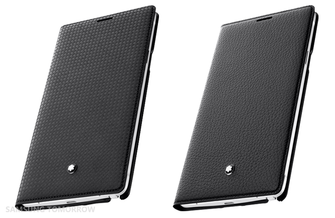 Montblanc Extreme leather cover and Montblanc Meisterstück Soft Grain leather cover for Galaxy Note 4