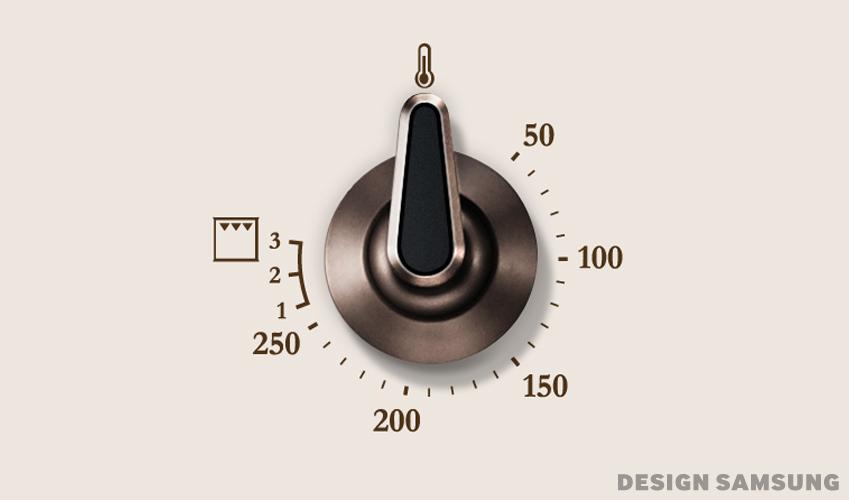 Retro Oven Knob Dial