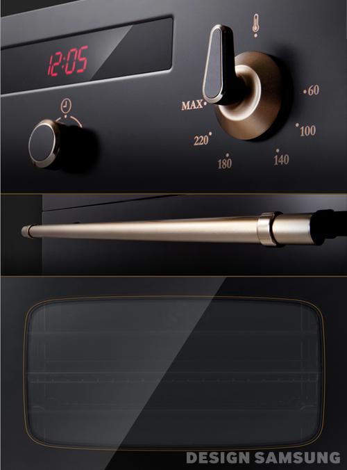 Retro Oven-close up