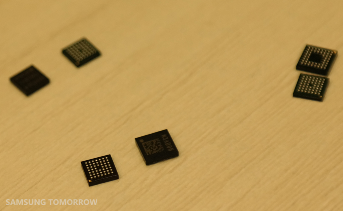 NFC chips(S3FWRN5), six of them