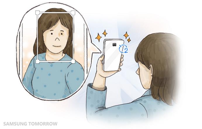 Galaxy Note 4 - Rear-Cam Selfie Mode