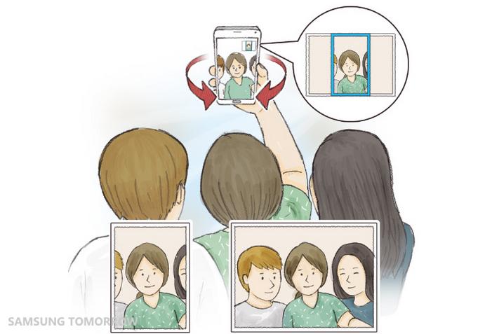 Galaxy Note 4 - Wide Selfie